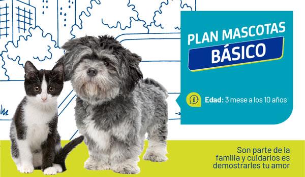 Vive Protección - Plan Mascotas Básico